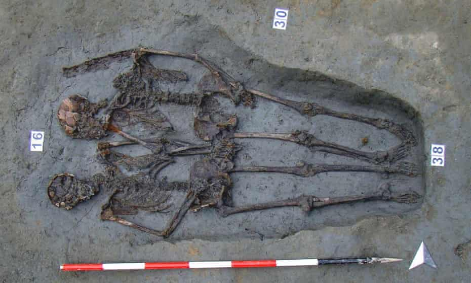 Skeletal remains of Lovers of Modena