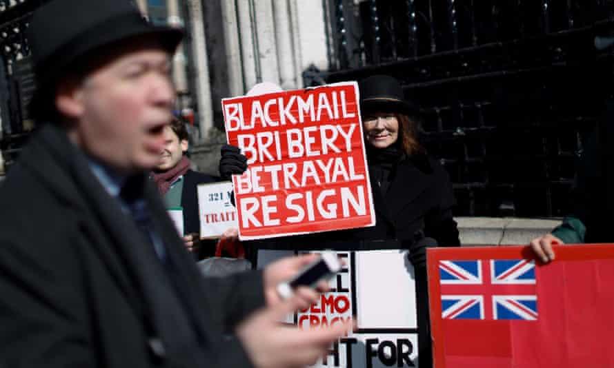 Pro-Brexit activists