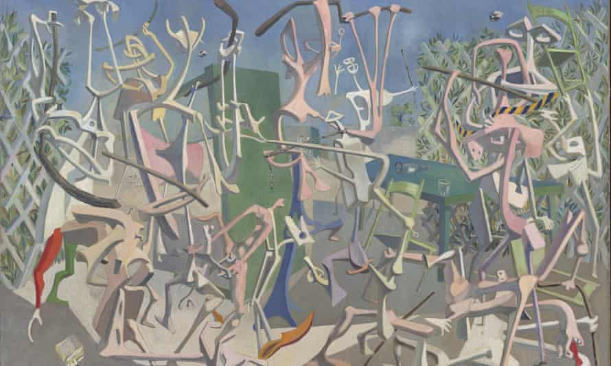 Coups de bâtons 1937 by Mayo (Antoine Malliarakis) will feature in Surrealism Beyond Borders.
