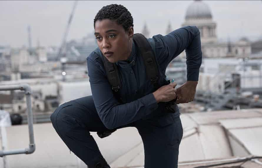 Bring in the new … Lashana Lynch as the new 007.