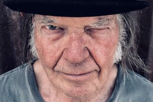 'Lightness of touch' ... Neil Young.