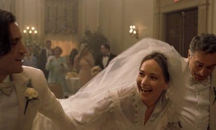 Jennifer Lawrence and Robert De Niro in Joy