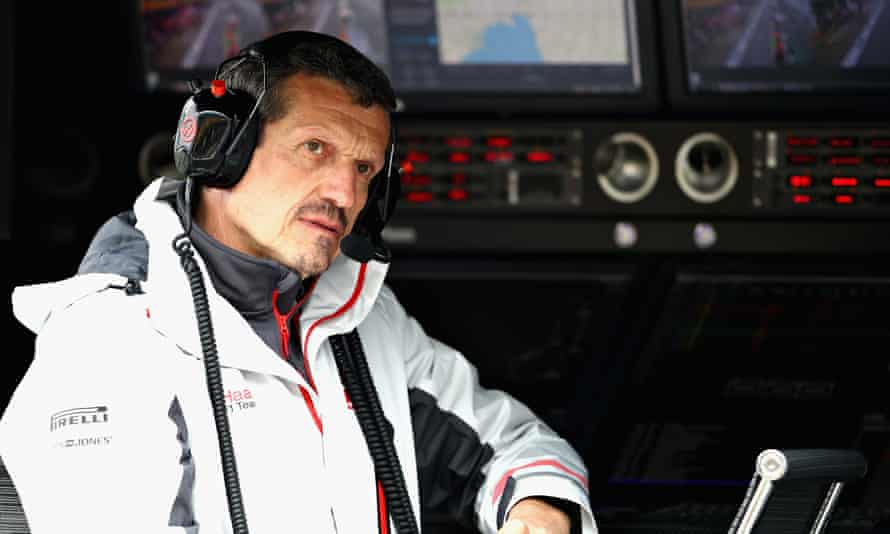 Guenther Steiner, Haas's foul-mouthed, acerbic team principal, is one of the documentary's stars.