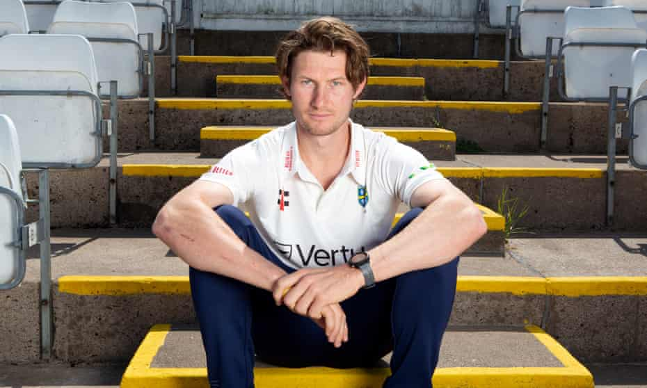 Cameron Bancroft photographed at the Riverside Ground in Chester-le-Street.