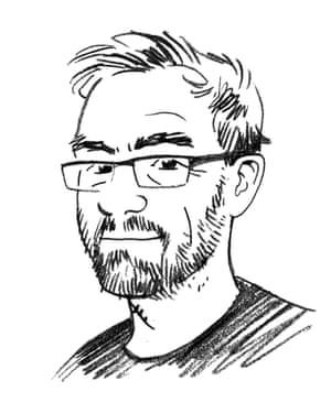 Jason Lutes self portrait.