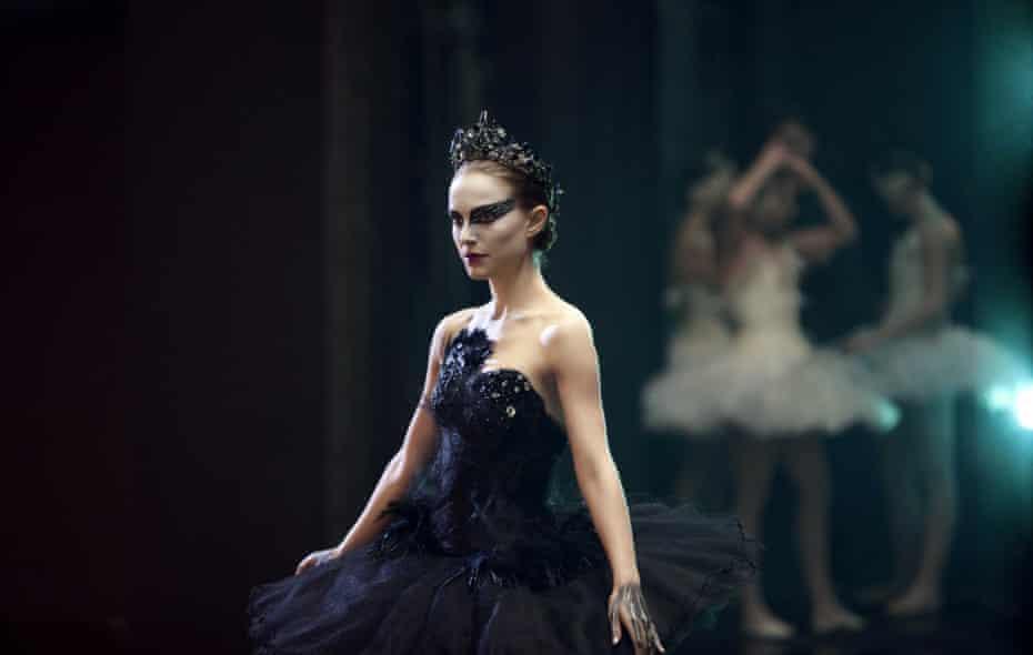 Delirious … Natalie Portman in Black Swan.