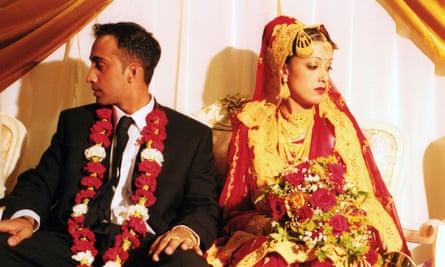 A Muslim wedding.