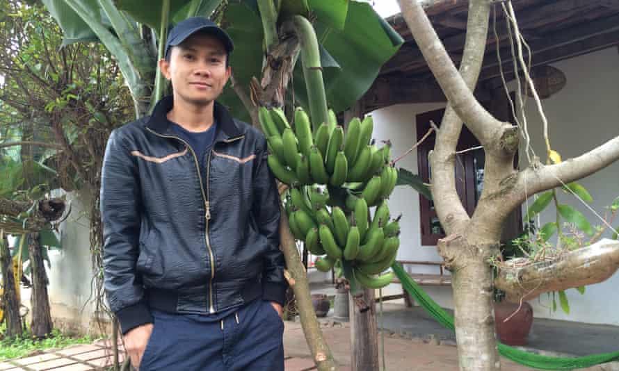 Jungle Boss Le Luu Dzung at his homestay