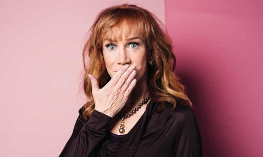 Comedian and provocateur Kathy Griffin