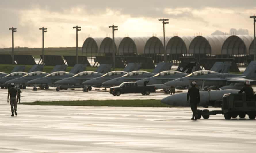 Andersen Air Force Base, Guam.