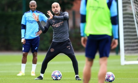 Ppe Guardiola won the Champions League twice as manager of Barcelona but has never got beyond the quarter-final stage with Manchester City.