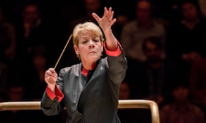 Marin Alsop was also the first woman to conduct the Last Night of the Proms.