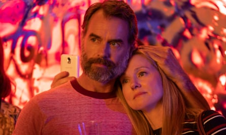 Murray Bartlett and Laura Linney in the new Tales of the City.