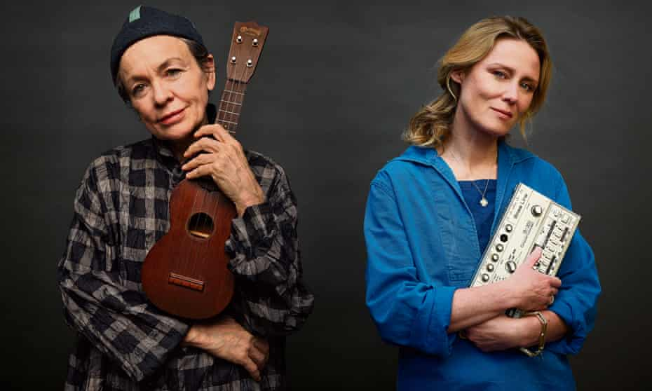Musicians Laurie Anderson, left, and Róisín Murphy.