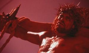 Willem Dafoe in The Last Temptation Of Christ.