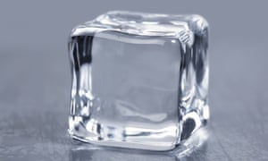The kind of high quality ice 'that was the norm in the days before mechanical refrigeration'.
