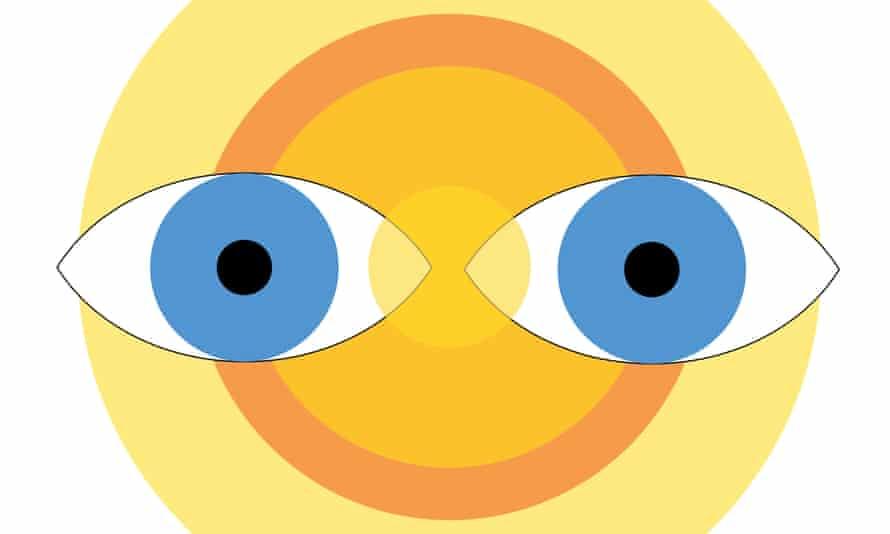 Illustration of eyes