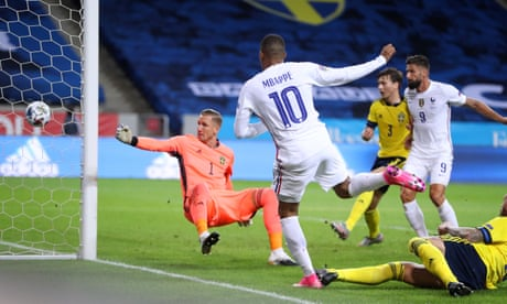 Nations League roundup: Mbappé gives France victory, Portugal hit four