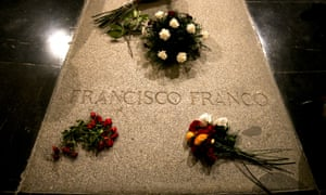 Tomb of Francisco Franco at the Valley of the Fallen.