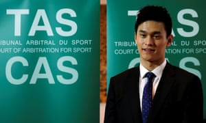 Chinese swimmer Sun Yang faces a lengthy ban