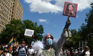 Black trans lives matter rally.