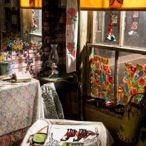 Maud Lewis exhibition at the Art Gallery of Nova Scotia, in Halifax.