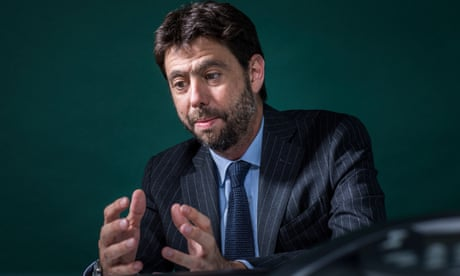 Juventus chairman Andrea Agnelli: 'My project to reshape European football'