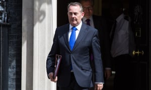 International trade secretary Liam Fox is due to begin trade talks with the US this week.