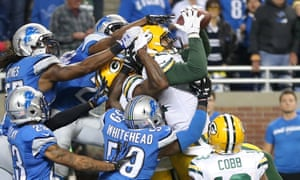 The Lions lost in dramatic fashion to the Packers.