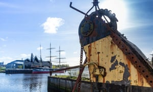 Showpeople say the pace of development in Glasgow, in particular around Govan's former shipyards, is pushing them out of the city