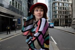 'People need to learn to say no' … Elf Lyons, seen at Bank, London.