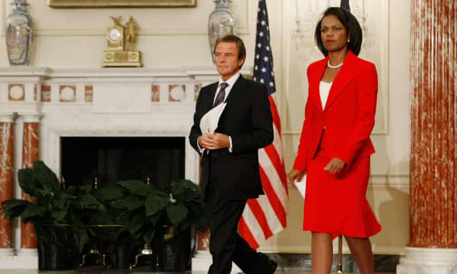 Former US secretary of state Condoleezza Rice, the only child of a pastor in Birmingham, Alabama.