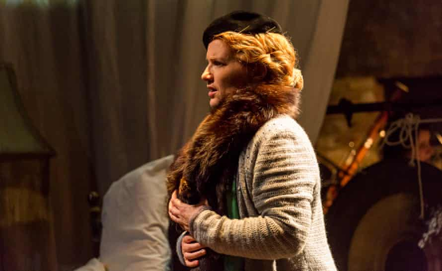 Joanne Roughton-Arnold in Gillian Whitehead's new chamber opera, Iris Dreaming, at the Arcola theatre.
