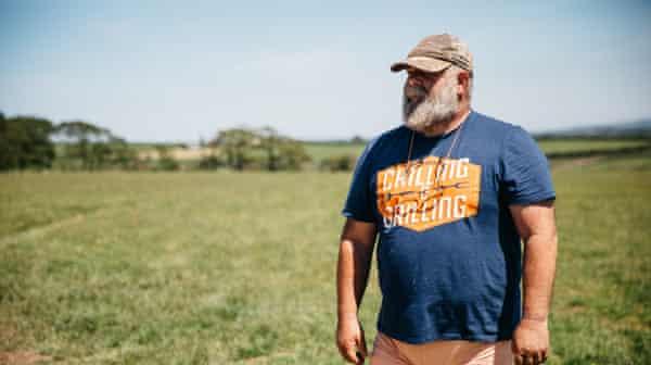 rewilding farmer Derek Gow.