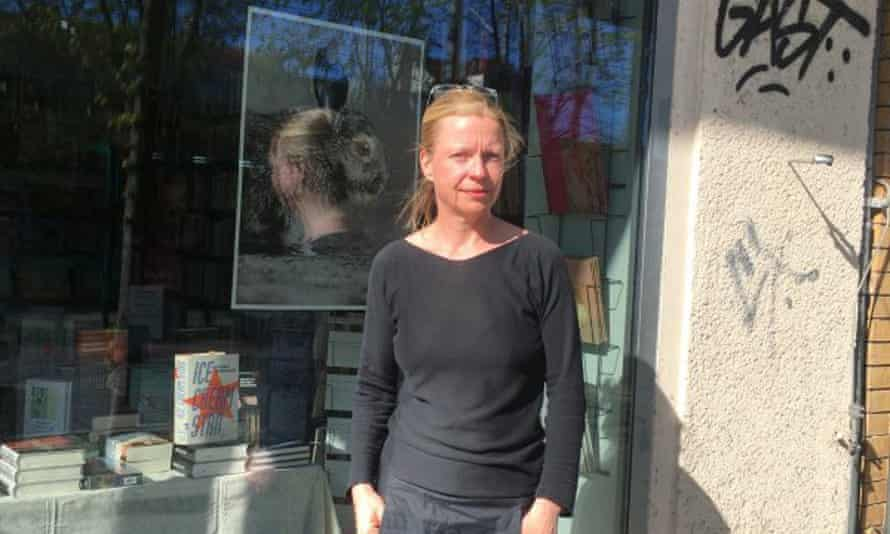 Kerstin Seefeldt, owner of Script Buchhandlung in Babelsberg. 'It has been an intense and rewarding time of mutual solidarity,' she says.