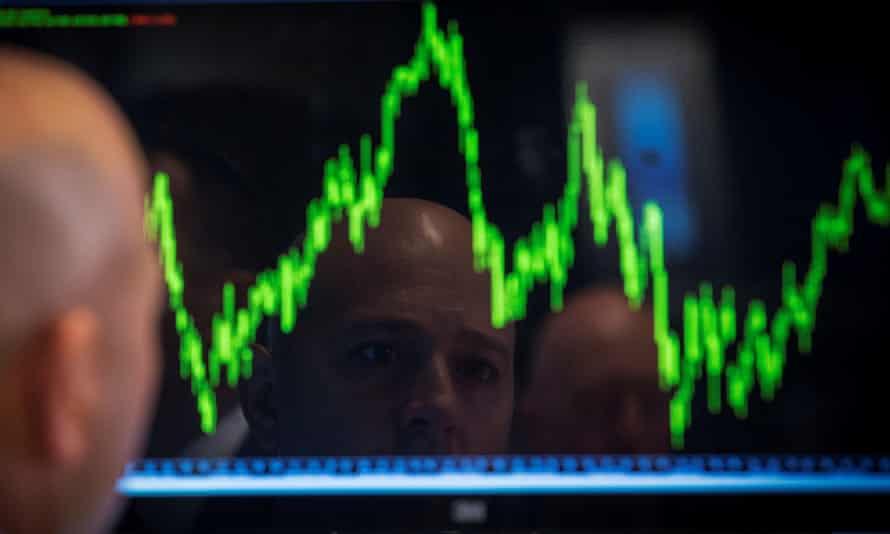 A trader's screen