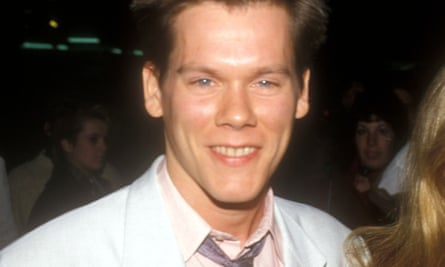 Kevin Bacon attends Footloose premiere