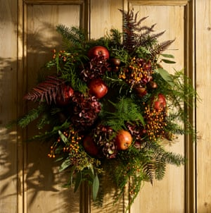 Christmas wreath, from £90.