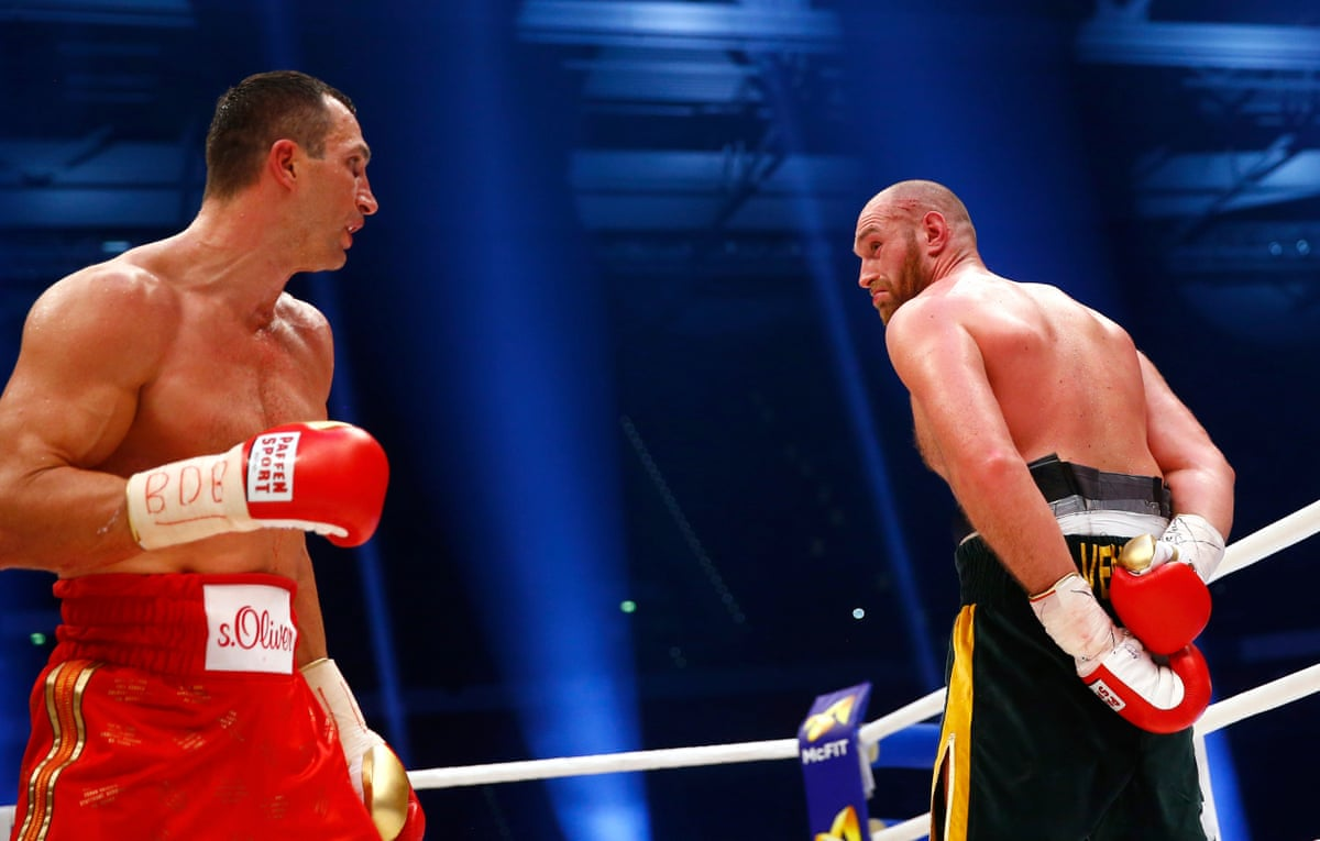 Boxkampf Fury