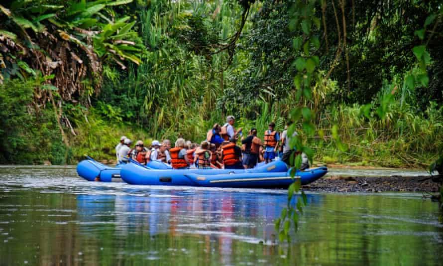 Rafting, Rio Penas Blancas