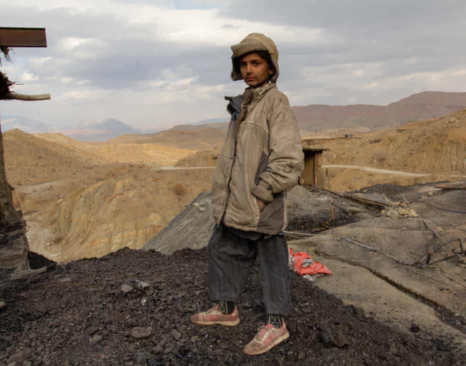 'We can't survive if we don't work,' says 15-year-old orphan Noor Mohammed Marri