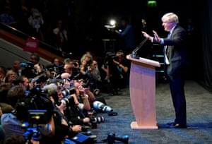 Boris Johnson is favourite to be the next Tory leader.