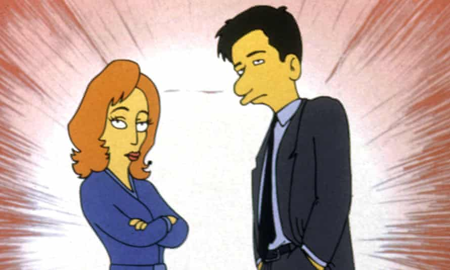 Scully and Mulder.