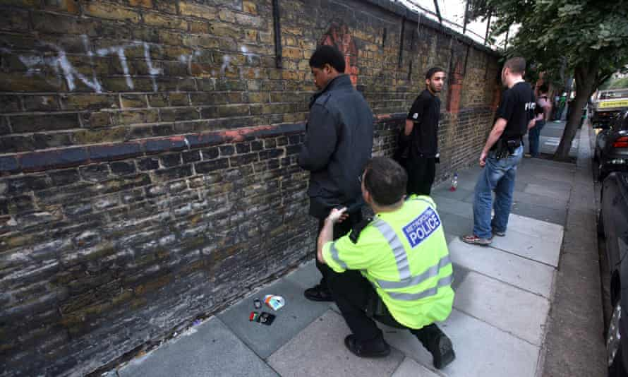 Stop and search in Hammersmith, west London