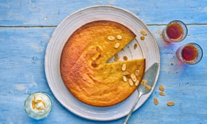 Claudia Roden's orange and almond cake