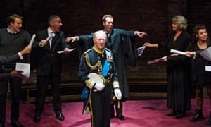 Tim Pigott-Smith as Charles in Bartlett's play King Charles lll