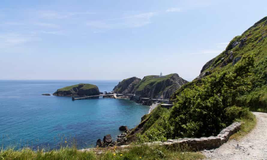 'Wonderfully remote': Tibbetts, Lundy, Devon.