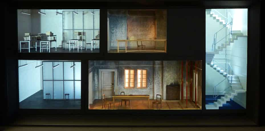 Written on Skin at the Royal Opera House – final model for Act 3