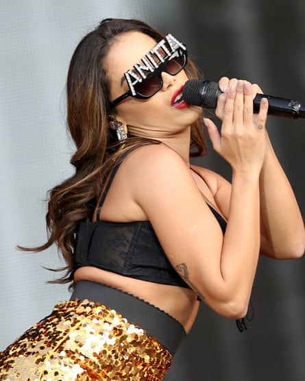 'She knows exactly where she wants to go' … Anitta.