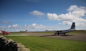 North Ronaldsay airstrip in 2017